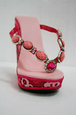 MOBILE PHONE SHOE STAND - PINK WITH STRAP