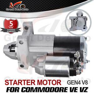 Starter Motor for Holden Commodore VE VF 6.0L 6.2L L76 L77 L98 LS3 V8 2007-2017