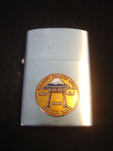 Konwal Cigarette Lighter USN United States Navy Yokosuka Japan