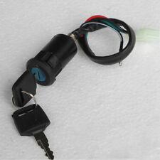Motorcycle Ignition Switch Key 4 Wires For Suzuki Yamaha Honda Kawasaki Ktm (Fits: Bourget's Bike Works)