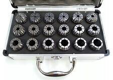 """ER32 Collet Set - 18 Piece Imperial 3/32""""- 3/4"""""""