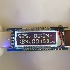 USB Volt Current Voltage Doctor Charger Capacity Tester Meter Power Bank IT