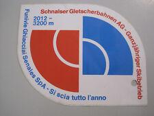 Aufkleber Sticker – Schnalstal Gletscher – Südtirol – Italien Skifahren – Ski
