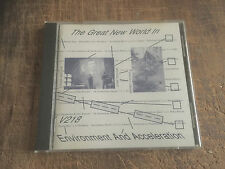 THE GREAT NEW WORLD IN ENVIRONMENT AND ACCELERATION - AVANT GARDE,EXPERIMENTAL!!