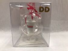 New Dunkin Donuts Hot Coffee Cup inside a Christmas Ball Holiday Ornament