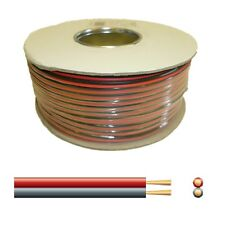 10A Automotive DC Power Cable - Twin Core Figure '8' 12V Black/Red - 100m reel
