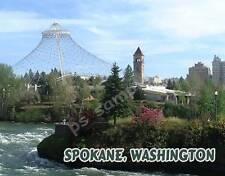 Washington - SPOKANE 2 - Souvenir Fridge Magnet
