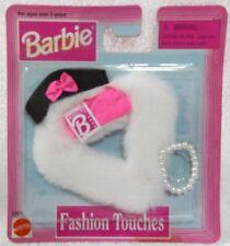 Fashion Touches Barbie-1998-68651-Hat, Wrap & Pearls-NRFP