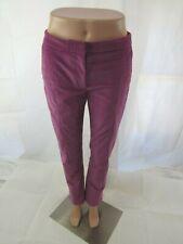 Jeffrey Dodd Lilac Corduroy Pant Size 40