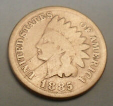 Penny  SDS  **FREE SHIPPING** 1885 P Indian Head Cent