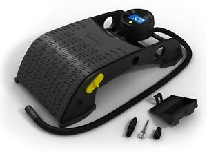 Michelin Digital Foot Pump Double Barrell Pump - Inflates Car Tyres, Bikes