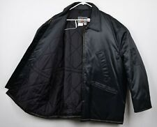 Spiewak Titan Men's Sz 52/54 Quilted Lined Dark Navy Blue Full Zip Work Jacket