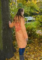 Tru Rain Cappotto Impermeabile Giacca Friesennerz Arancione Taglia M(40/42)