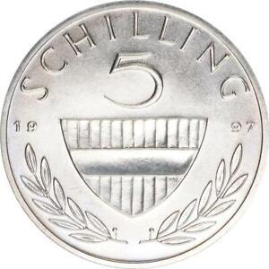 Österreich, 5 Schilling 1997, A62916