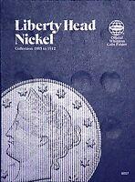Whitman Liberty Head Nickel Coin Folder 1883-1912 #9007