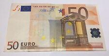 TRES RARE BILLET DE 50 EUROS LETTRE G @ CHYPRE @ SIGNATURE DRAGHI @ INTROUVABLE