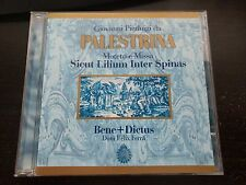 GIOVANNI PIERLUIGI DA PALESTRINA - MISSA E MOTETO - MUSIC CD - LIKE NEW - G757