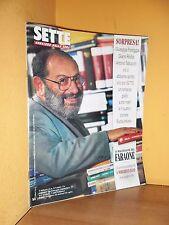 Sette - Corriere della Sera - n. 32/33/34 - 1995 - Umberto Eco - Rivista buona