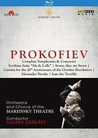 Prokofiev Complete Collection Valery Gergiev & Mariinsky Theater Blu-ray F/S NEW