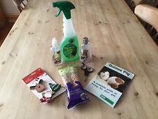 Selection Of Guinea Pig Essentials Including Christmas Treats