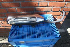 Honda FES 125 150 Pantheon  JF12  Auspuffanlage Auspuff original  2003-2006