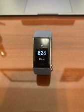 Fitbit Charge 3 Activity Tracker + Heart Rate - Rose Gold/Blue Grey