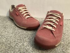 Simple Sugar Blush Suede Perforated S476 Comfort Pink Sneakers Shoes Women's 8.5