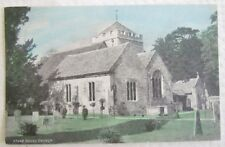 Antique Postcard Stoke Poges Church St.Giles & St.Andrew'S England Uk