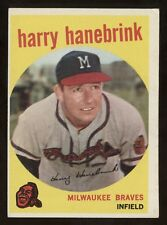 1959 Topps #322 Hanebrink Ex-ExMt Condition