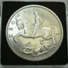 More details for uk 1935 george v rocking horse silver specimen crown coin ref spink 4048 ac4