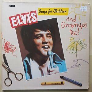 Elvis Presley | Sings for Children..| Germany 1978 | Stereo Vinyl |