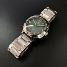 SteelDive Automatic Dive Watch - Panerai/PAM homage - Premium Specs - USA Seller
