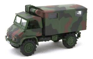 Roco H0 47180 Güterwagen Schwerlastwagen mit Unimog DB WgNr 333 8 509-9 in OVP