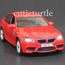 "RMZ City 5"" BMW M5 4 Doors Sedan Diecast Toy Car 1:36 Red"