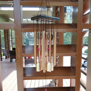 Large Metal Tubes Wind Chimes Chapel Bell Home Garden Hanging Decoration Duable