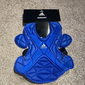 """Adidas Pro Series 16"""" Catcher's Chest Protector 2.0 S99091 Royal Blue"""