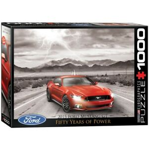 EG60000702 - Eurographics Puzzle 1000 Pc - Ford Mustang 2015