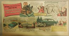 "Ford  Ad: ""Ford's the One Fine Car in the low-priced field""  from 1950"