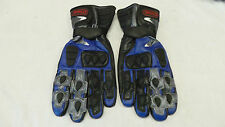 Dynamic Sport Leather Gloves Blue Mens XXL