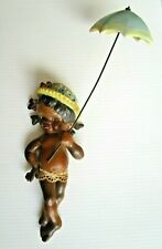 Vintage Brownie Downing Wall Plaque Rare Picaninny Aboriginal