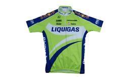 Maillot cyclisme rétro Nalini Cannondale Bibione Freza Liquigas