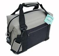Polar Bear Coolers PB 127 12 Pack Light Nylon Soft Cooler with Strap, Silver