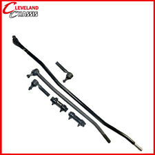 6 Pc Steering Kit Ford F350 85-97 Center Link Tie Rod Ends Sleeves F-350 4Wd