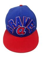 Atlanta Braves Baseball Hat Cooperstown Collection New Era Snapback Cap