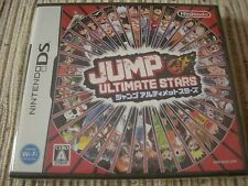 NINTENDO DS JUMP ULTIMATE STARS NTSC JAPAN IMPORT NUEVO PRECINTADO