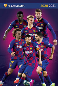 FC Barcelona 19/20 - Poster 61x91,5 cm