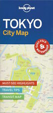 Lonely Planet Tokyo City Map (Japan) *FREE SHIPPING - NEW*