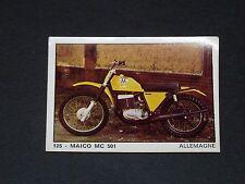 #125 MAICO MC 501 ALLEMAGNE MOTO 2000 PANINI EDITIONS DE LA TOUR 1973
