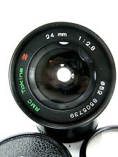 RMC Tokina 24mm f2.8 Canon FD Lens