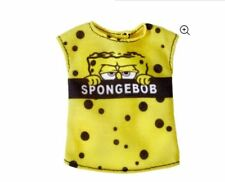 New 2018 Barbie Doll Fashion Pack Sponge Bob Square Pants Yellow Top